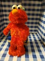 Rare Gemmy Sesame Street ELMO Electronic Happy Birthday Plush Activated Decor