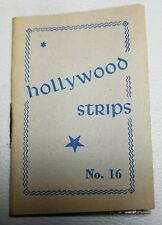 Hollywood Strips Booklet No. 16 Netherlands Maple Leaf Bubble Gum Premium