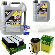 Inspection Kit Filter LIQUI MOLY Oil 6L 5W-40 For IPHONE Kia Magentis MG