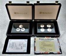 More details for douglas bader centenary silver coin & spirit of the nation set 197 grams silver