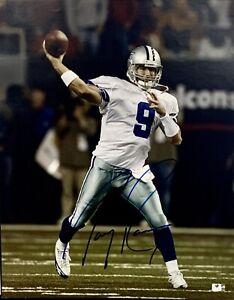 Tony Romo Dallas Cowboys Signed 16x20 Photo Autographed Auto COA