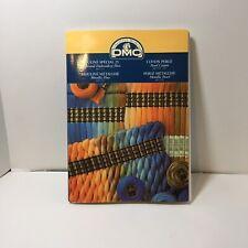 DMC Six Strand Embroidery Floss Metallic Pearl Cotton Color Card 2004