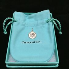 Tiffany & Co. Sterling Siler Lex Round TCO Box Charm, BNIB, 29256144, RARE