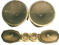 "Seeburg Ss160 Jukebox: Great Sounding 6 Speaker System 2 Bass & 2 -9""x6"" & 2-3"""