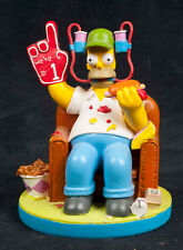 Simpsons At Home With Homer Game Day Hamilton Collection Sculpture