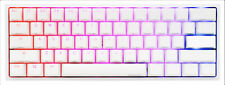 Ducky One 2 Mini Pure White - RGB LED 60% Double Shot PBT Mechanical Keyboard