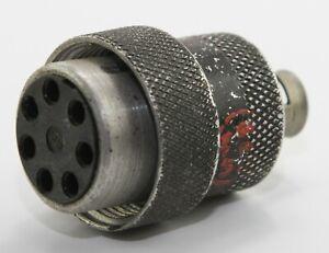 7 way Gun camera plug 5C/958 for RAF Spitfire, Hurricane etc (GD1)