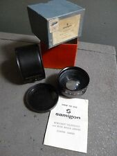 SAMIGON AUXILIARY WIDE ANGLE LENSES SERIES 7 COATED LENS IN ORIGINAL BOX & CASE
