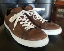 Men's Tod's Low Top Lace up Sneakers - Cocoa Brown - Size 11 US / 10 UK