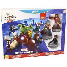 Disney Infinity Marvel Super Heroes. Starter pack 2.0 – Nintendo Wii u