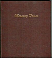 #7123 Used Dansco for Mercury Dimes 2 pages