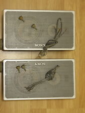 PAIR OF SONY SPEAKER  SS-X2A (The Larger Size) 25cm (Sony Profeel Trinitron)