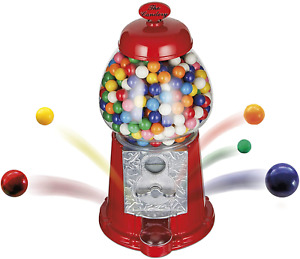 The Candery Gumball Machine - 12 Inch Candy Dispenser for 0.62 Inch Bubble Gum -