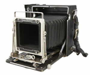 Graflex 4x5 Crown Graphic Camera manual focus BG