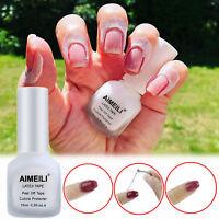 15ml Peel Off Nail Latex Tape Finger Skin Protect Base Coat Liquid Tape Cream