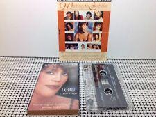 WHITNEY HOUSTON Exhale (Shoop Shoop) CASSETTE SINGLE W SLIP CASE 1995 & Promo In
