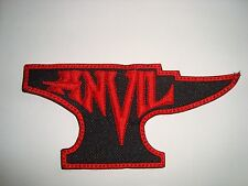 ANVIL - LOGO Embroidered PATCH Accept Judas Priest Raven Tank Omen Exciter