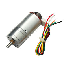 DC12V 190RPM Encoder Disk Speed Reduction Gear Motor with Encoder Speed