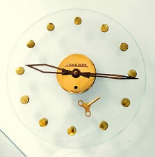 OROLOGIO WATCH WALL CLOCK FOR DEALERS '50 ORIGINAL LONGINES CRYSTAL VERY RARE 1