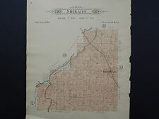 Wisconsin, Dodge County, 1910 Plat Map, Shields Township, Double Sided J20#69