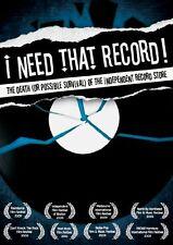 I Need That Record [DVD] [2010] [NTSC] [DVD]