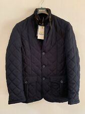 Barbour Men's Lutz Quilted Jacket, Navy S, New With Tag's RRP £159