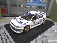 SUBARU Impreza WRC Rallye WRC 1999 #1 Thiry Winner Madeira 99 Trofeu 1/250 1:43