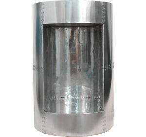 Aviator Aluminum Handcraft Round Side and End Table