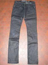 Jean pantalon bleu foncé huilé femme GUESS taille 36 / 38