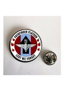 Pathfinder Platoon  Lest We Forget  lapel pin badge / Key Ring  /  Magnet