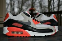 Nike Air Max 90 Premium Mesh GS 'Infrared'  724882-100  Youth Size 6.5Y
