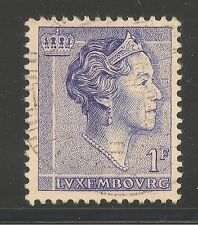 Luxembourg #366 (A86) Vf Used - 1960 1fr Grand Duchess Charlotte