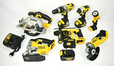 DeWalt 18V Akku Werkzeug Maschinen Set 3x4Ah DCS391+DCS331+DCD985 + Bohrhammer