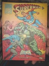 INDIA OLD RARE - DOLTON COMICS - SUPERMAN & BATMAN IN SUPER COMICS VOL. 2 NO. 14