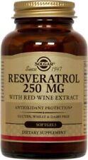 Resveratrol 250mg Solgar 60 Softgel