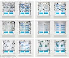 Quality Printed Zebra/Vision Window Roller Blinds 6 Designs,16 Sizes, 200cm Drop