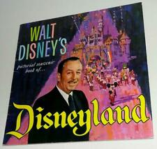 "1965 ""Walt Disney'S Pictorial Souvenir Book Of Disneyland"" Nice Example"