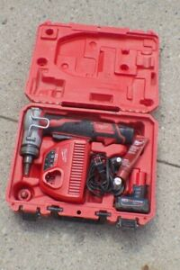 """Milwaukee 2432-22 M12 FUEL ProPEX Expander Tool Kit w/1/2"""", 3/4"""", 1"""", 2 Battery"""
