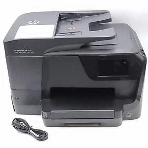HP Officejet Pro 8710 Printer Broken Scanner Glass For Parts Or Repair Only