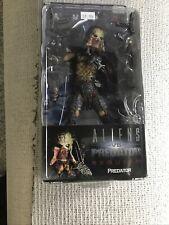 NECA Aliens vs Predator Requiem Unmasked Wolf Predator figure NEW Open Mouth