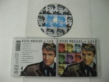 Elvis Presley live - CD Compact Disc