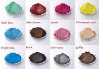 Perlglanz Effektpigment 12 x 5 gr. Beutel Metallicfarbe 2 Einfärben Epoxidharz