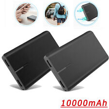 10000mAh Portable Power Bank Dual USB Fast External Battery Charger for Phone US