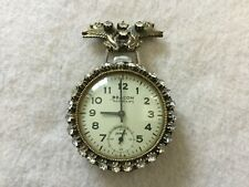 Beacon Viceroy by Ingraham Mechanical Wind Up Vintage Pocket Watch