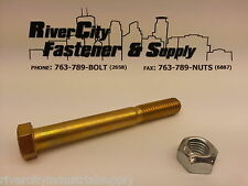 """9/16 x 5"""" Chevy, or GM and Dodge and Ford Truck Leaf Spring Eye Bolt & lock Nut"""