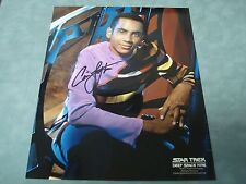 Authentic *Cirroc Lofton* Autographed 8X10 Photo *C.O.A.*