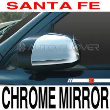 Chrome Side Mirror Cover No LED For 2007 2008 2009 2010 2011 Hyundai Santa fe