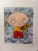 Fan art for FAMILY GUY - STEWIE - Hand Drawn & Hand Painted Cel
