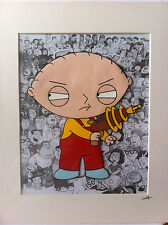 Family Guy - Stewie - Hand Drawn & Hand Painted Cel