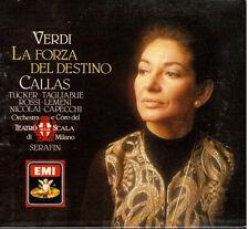 Verdi: La Forza Del Destino / Serafin, Callas, Tucker - CD